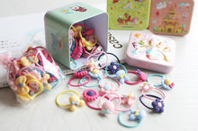 Load image into Gallery viewer, Juju Land Hair Ties in Tin