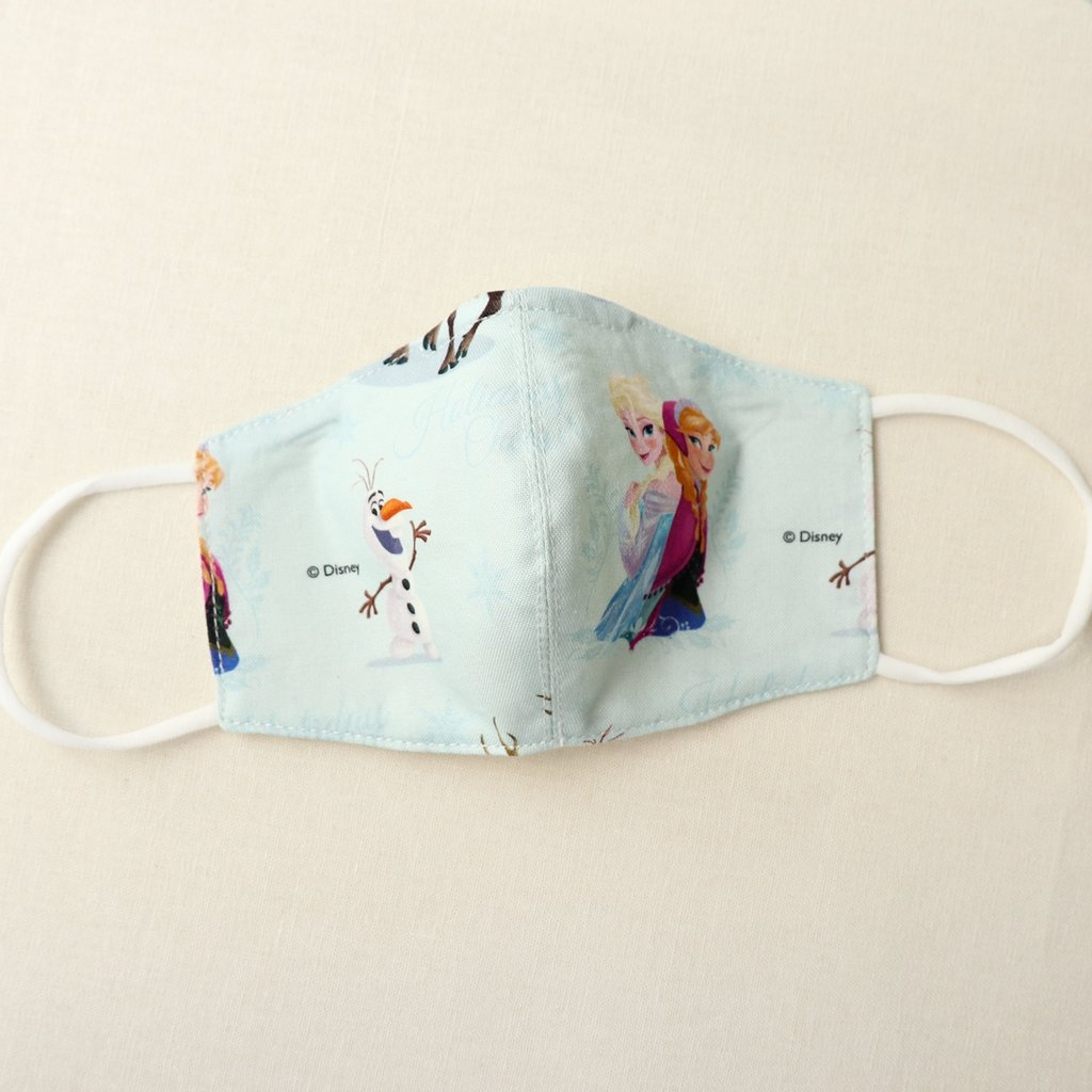 Reusable Cotton Face Mask made from Korean fabric (Child/Adult) - Frozen