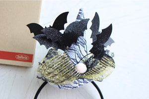 Halloween Bats Head Band
