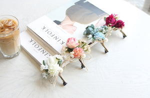 Aria Hair Clips (Handmande in Korea)
