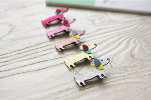 Doggy Hair Clips (Handmade in Korea)