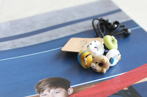 Ani Donuts Hair Ties (Handmade in Korea)
