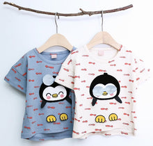 Load image into Gallery viewer, Penguin Tee (1-7yrs)
