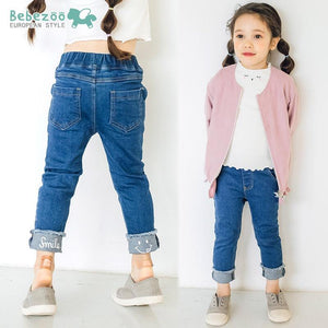 Smiley Denim Jeans (1-6yrs old)