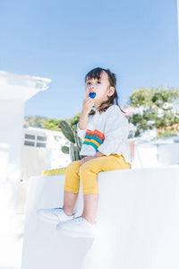 White Rainbow Top (1-6yrs old)