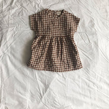 Load image into Gallery viewer, Checkered Dress (1yrs-6yrs)