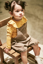 Load image into Gallery viewer, Yellow Ruffle Top (2-6yrs old)