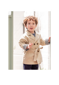 Bebe Trench Coat (1-6yrs)