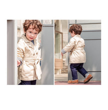 Load image into Gallery viewer, Bebe Trench Coat (1-6yrs)