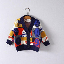 Load image into Gallery viewer, Jacquad Cardigan (2-8yrs old)