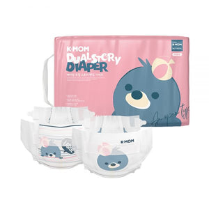 K-Mom Dual Story Diapers/Nappies Size L 9-14kg (56pcs)