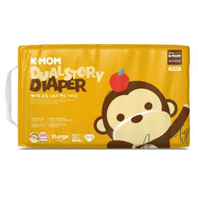 Load image into Gallery viewer, K-Mom Dual Story DIapers/Nappies Size XL 12kg and up (52pcs)