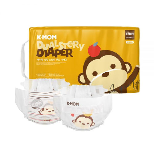 K-Mom Dual Story Nappies Size XL 12kg and up (52pcs)
