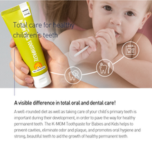 Load image into Gallery viewer, K-mom Kids Toothpaste - Low Fluoride (50g)