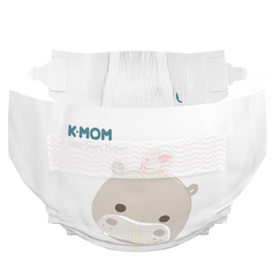 K-Mom Dual Story Diapers/Nappies Size M 6-11kg - 2 Packs (120pcs)