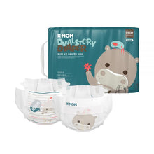 Load image into Gallery viewer, K-Mom Dual Story Diapers/Nappies Size M 7-11kg (60pcs)