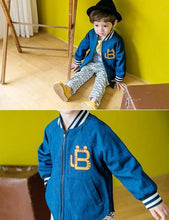 Load image into Gallery viewer, Boy Blue Jacket (2-4yrs old)