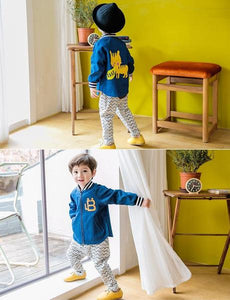 Boy Blue Jacket (2-4yrs old)