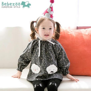 Grey Blouse (1-4yrs old)