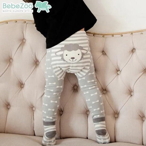 Grey Sheep Legging and Socks Set