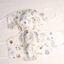 Load image into Gallery viewer, Cotton Face Mask made from Korean fabric (Child/Adult) - Lovely Bunny