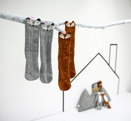 Fox Knee Socks (1-6yrs old)
