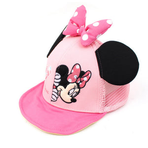 Minnie Mouse Bow Cap