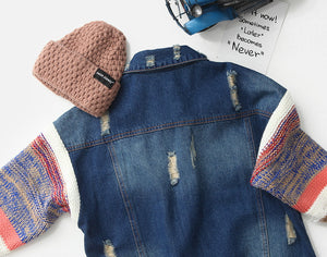 Cozen Knit Denim Jacket (3-9 yrs old, Mum)