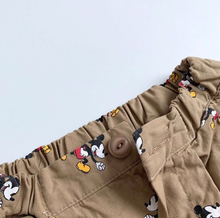 Load image into Gallery viewer, Mickey Moure Khaki Pants (2-7yrs old)