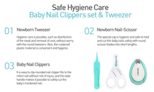 Load image into Gallery viewer, Mother-K Baby Nail Care & Tweezer Set