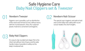 Mother-K Baby Nail Care & Tweezer Set
