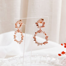 Load image into Gallery viewer, Corolla Drop Earrings (Handmade in Korea)