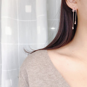 Frill Earrings (Handmade in Korea)