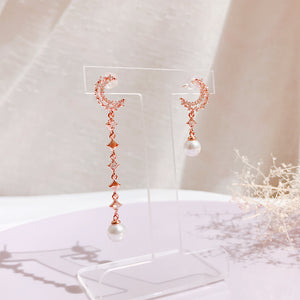 Senere Luna Earrings (Handmade in Korea)