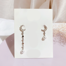 Load image into Gallery viewer, Senere Luna Earrings (Handmade in Korea)