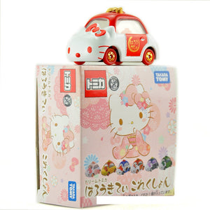 Authentic Takara Tomy Dream Tomica Sanrio Hello Kitty
