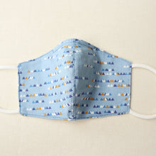 Load image into Gallery viewer, Reusable Cotton Face Mask made from Korean fabric (Child/Adult) - Geometry