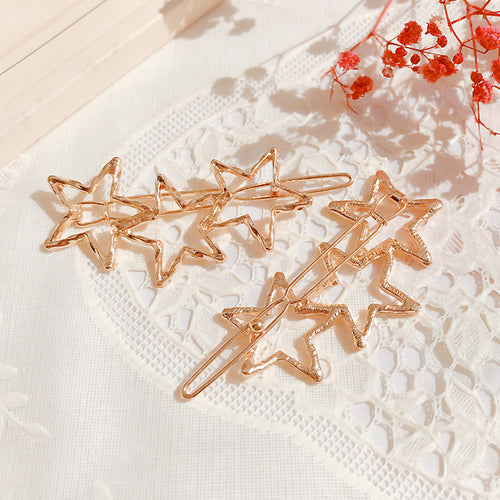 Triple Stars Hair Clip (Handmade in Korea)