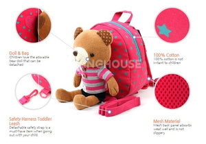 Bubble Mu Happy Safety Harness Backpack