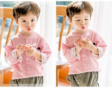 Load image into Gallery viewer, Boy Top and Bottom 2pcs Set (1-5yrs old)