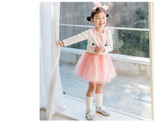 Load image into Gallery viewer, Girls Pink Kitty Dress (1-4yrs old)