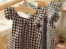 Load image into Gallery viewer, Checkered Wing Blouse - PRE-ORDER