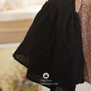 Black Cancan Blouse - PRE-ORDER