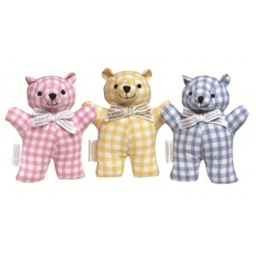 Cutie Pie Pure Cotton Rattle Teddy