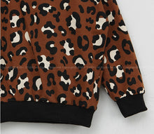 Load image into Gallery viewer, Leopard Sweater 2pcs Set (1-5yrs old)