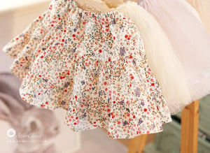 Flower Skirt (1-4yrs old)