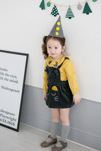 Girl Yellow Checker Top (1-4yrs old)