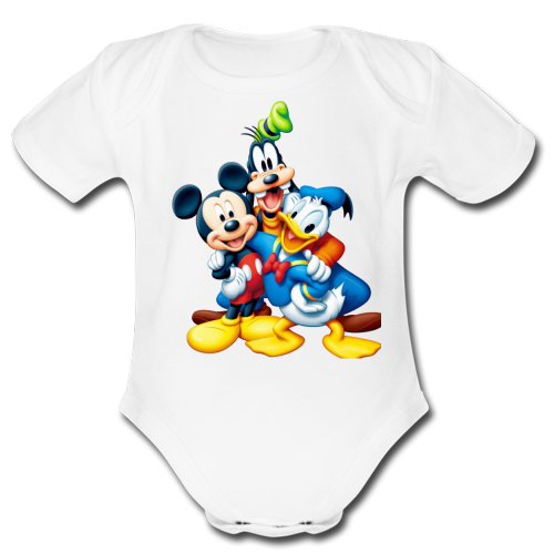 Body Bambino Mickey Mouse Minnie Mouse Goofy