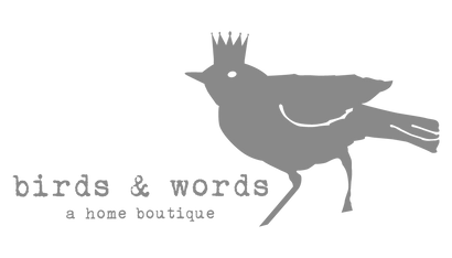 birds & words {a home boutique}