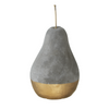 Cement Pear, Gold (large)